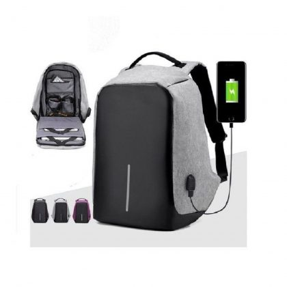Anti theft Backpack Laptop Bag with USB