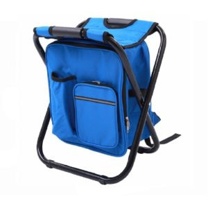folding outdoor chair with backpack