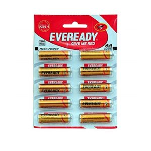 Eveready AA Cell Gold 1005 , Pack Of 10 U
